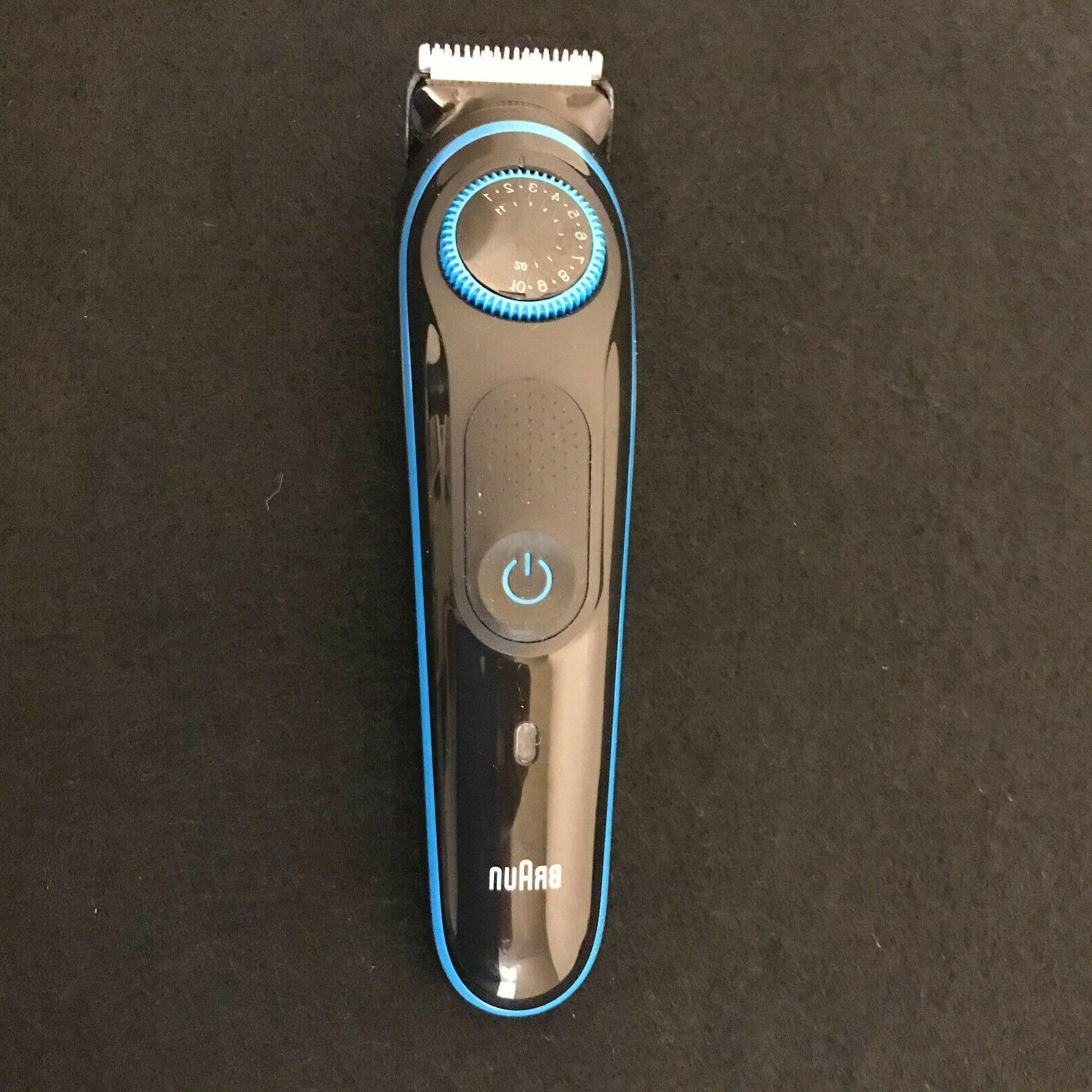 Braun BT5040 Cordless Beard Trimmer Hair with Adjustable Dial and
