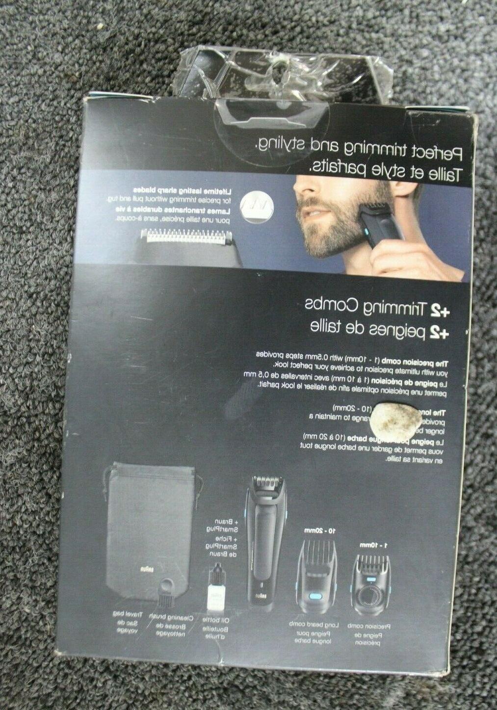 Braun BT5050 Beard Trimmer NEW +