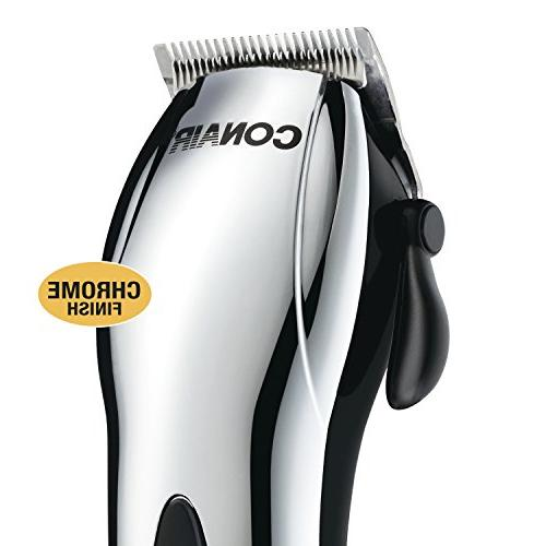 Conair Cord/Cordless 22-piece Haircut Cutting Kit; Chrome