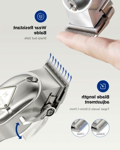 Limural Hair Trimmer Kit Cordless Shaver Beard Barber Set