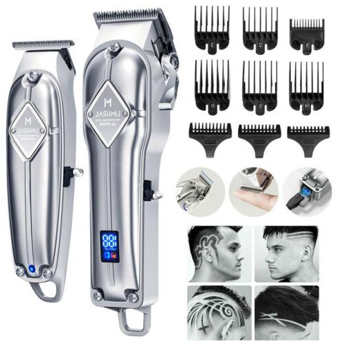 cordless hair clippers close cutting t blade