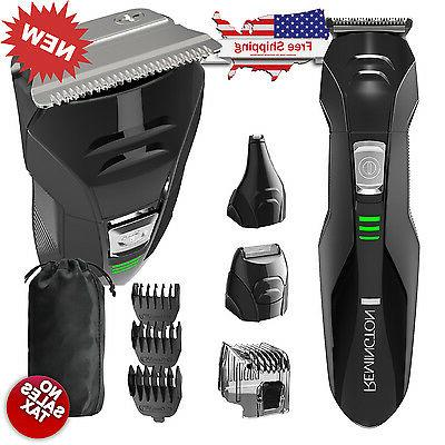 cordless hair clippers trimmer set
