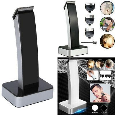 cordless rechargeable beard trimmer shaver hair clipper