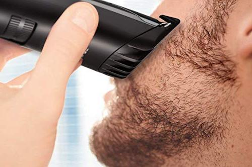 RIWA Trimmer and Hair Cordless Mustache Body Grooming Kit USB Rechargeable Hair Cutting Clipper,