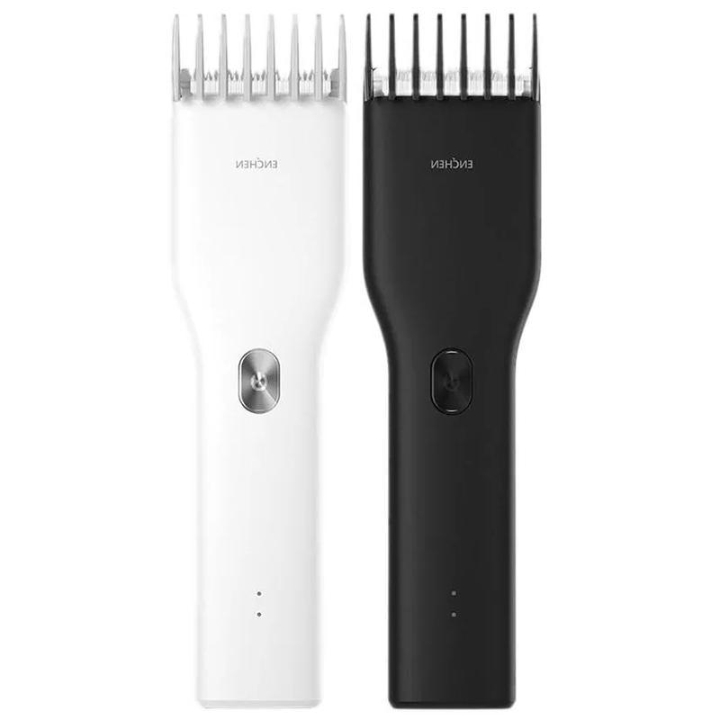 Xiaomi ENCHEN Electric Hair Clipper <font><b>Trimmer</b></font> Men USB Rechargeable <font><b>Beard</b></font> Cordless IPX7 Waterproof Cutting