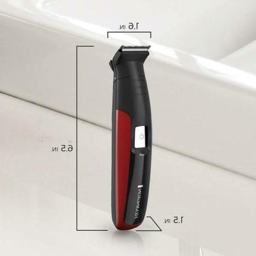 Remington Face, & Body Grooming Kit Lithium Power, Red,...