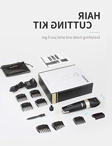 WONER Hair Clippers Hair Trimmers for Cutting 2000mAh Lithium