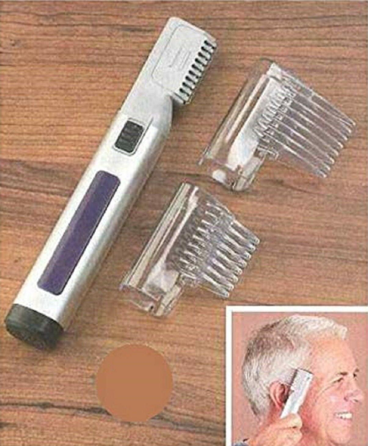 Hair Trimmer 2 On Combs Battery Operated Necklines