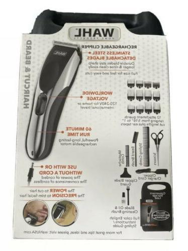 Wahl Beard Cord/Cordless 22 Piece Kit