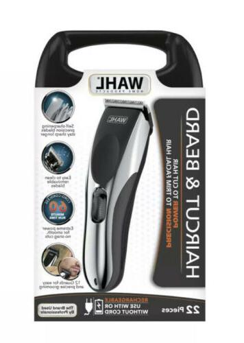 haircut and beard cord cordless rechargeable trimmer