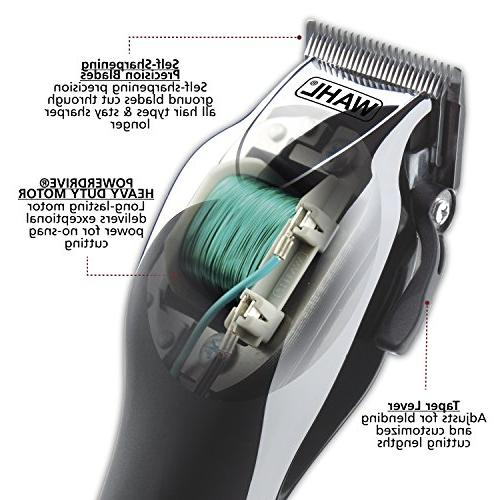 Wahl Home Clipper with clipper, trimmer, in a by