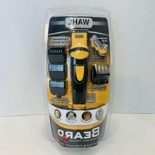home products beard rechargeable trimmer 9 pc