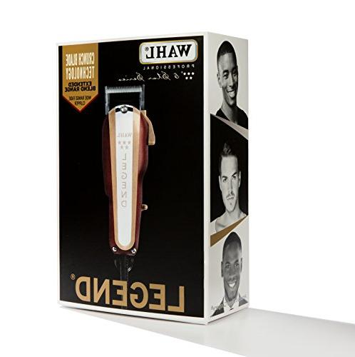 Wahl Professional New 5-Star Legend - The Ultimate Fading Crunch Blade Technology 8 Attachment