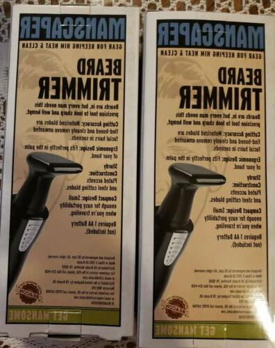 Lot 2 Manscaper Trimmer--trimmers cutting blades -