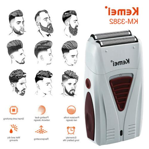 men electric shaver razor beard trimmer hair