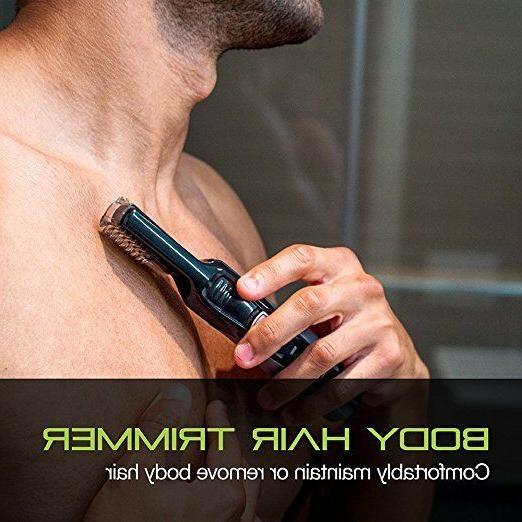 Men Shaver Lithium Body Groomer Kit