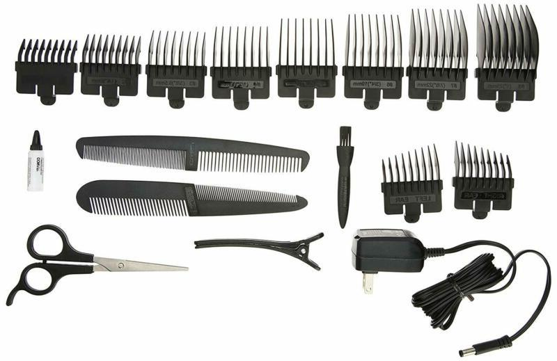 Men's Hair Clippers Wireless Grooming Haircut Kit