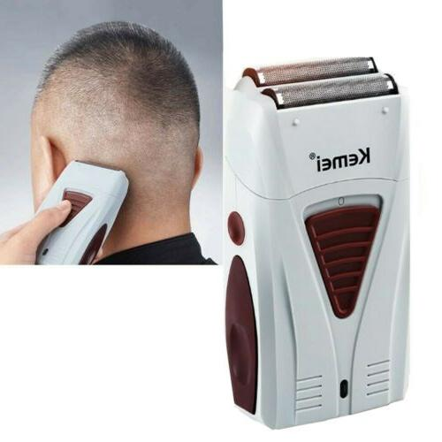Men's Electric Shaver Bald Beard Shaving