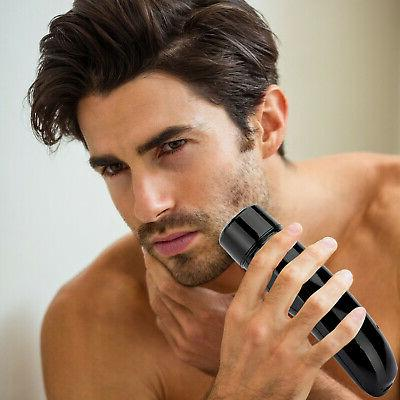 Men's Electric Rechargeable Razor Beard Trimmer Hair face