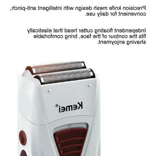 Men's Electric Bald Rechargeable Beard Machine