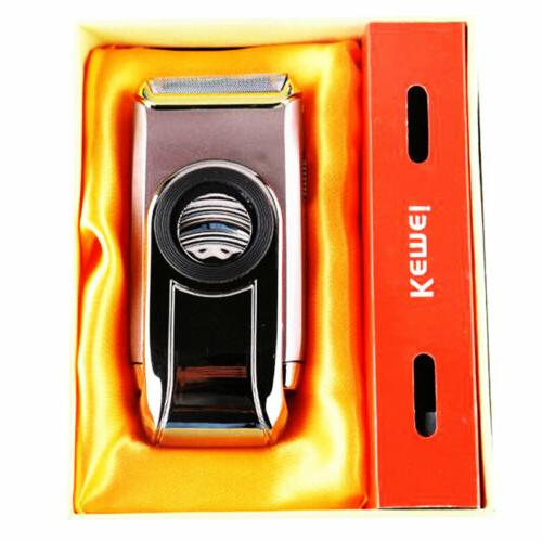 Men Electric Shaver Steel Shaving Machine Rechargeable