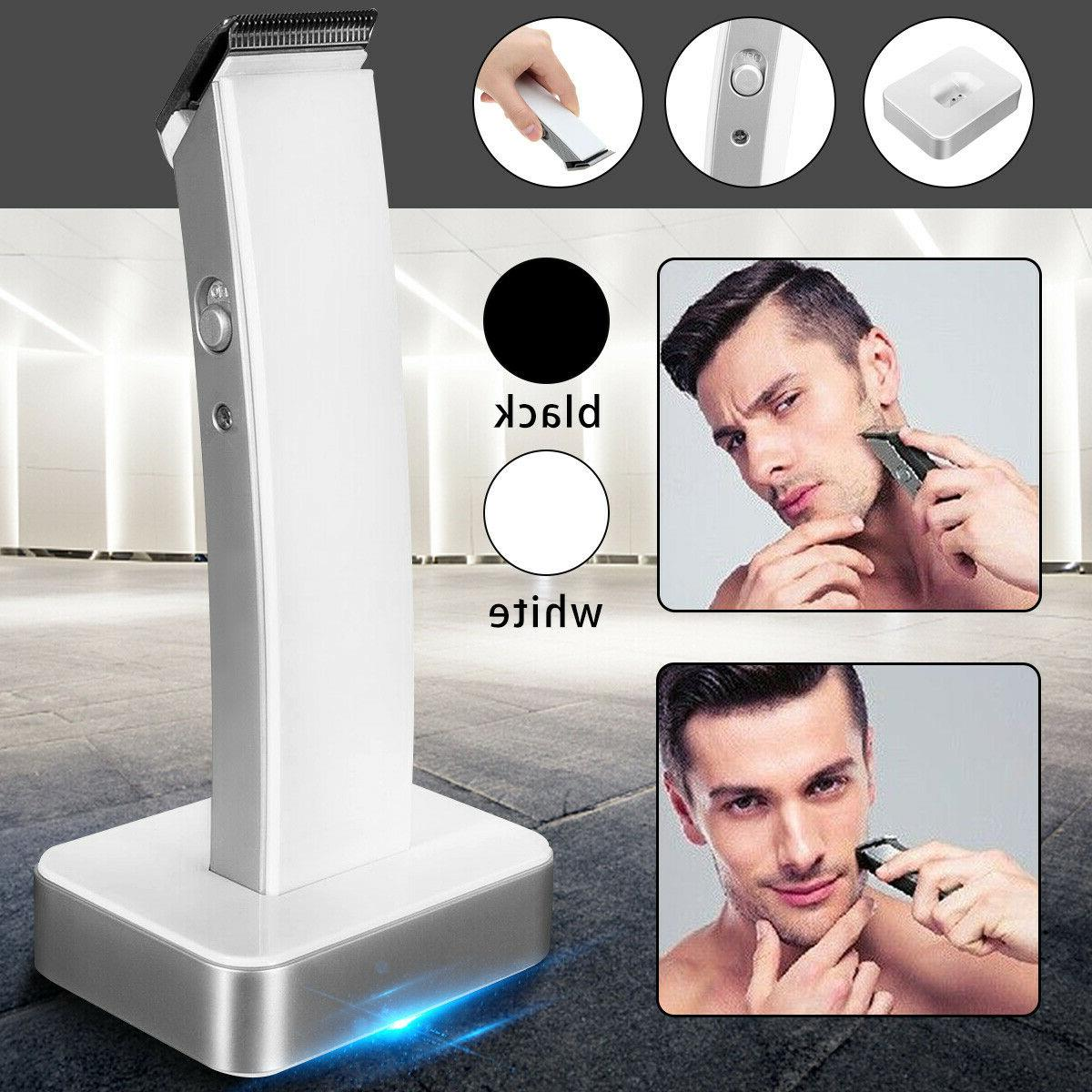KEMEI Men Electric Rechargeable Clipper Trimmer Beard Shaver
