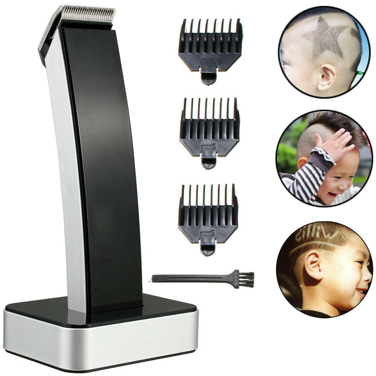 Wireless Rechargeable Hair Trimmer Beard Razor Barber