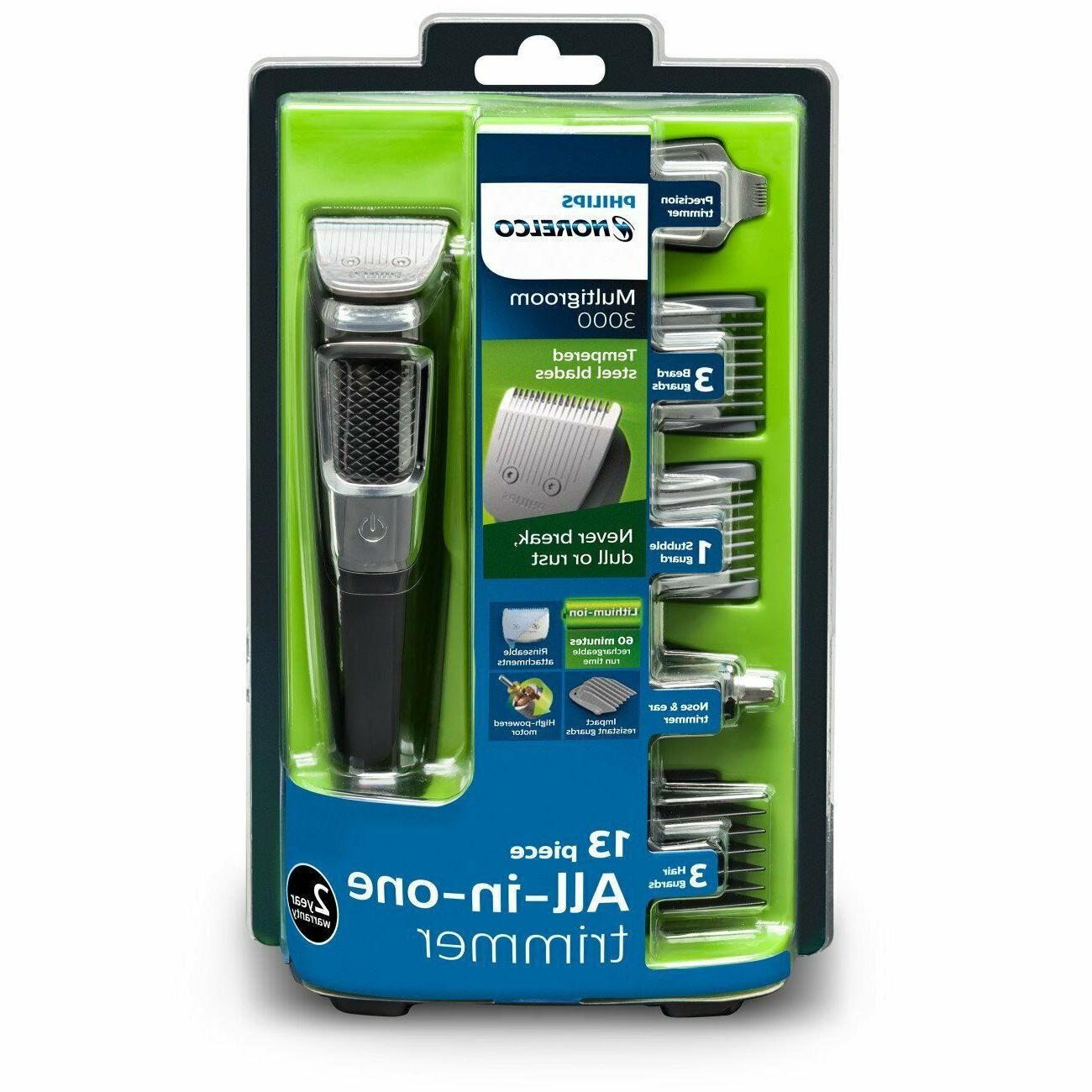 Philips Norelco MG3750 Series attachment beard New