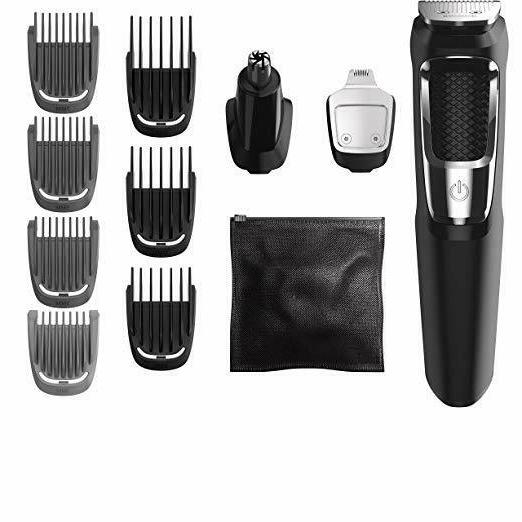 Philips Norelco Rechargeable Grooming Kit Beard Nose Ear Hair