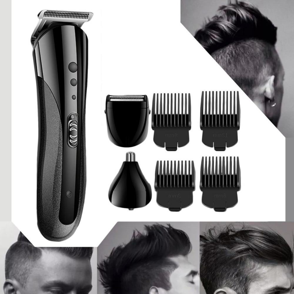Multifunctional <font><b>Trimmer</b></font> Electric Nose Hair Clipper Professional Electric Razor Shaver