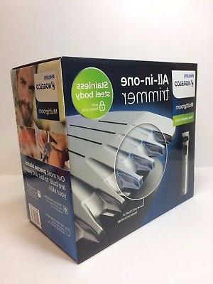 Philips Multigroom Hair Head Body Trimmer 110-220V