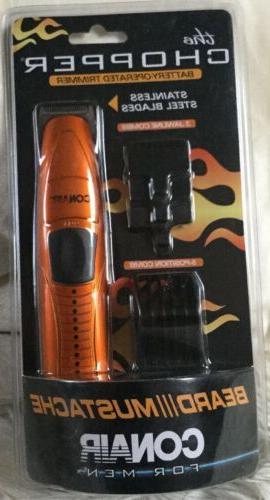 multiuse compact mustache beard trimmer