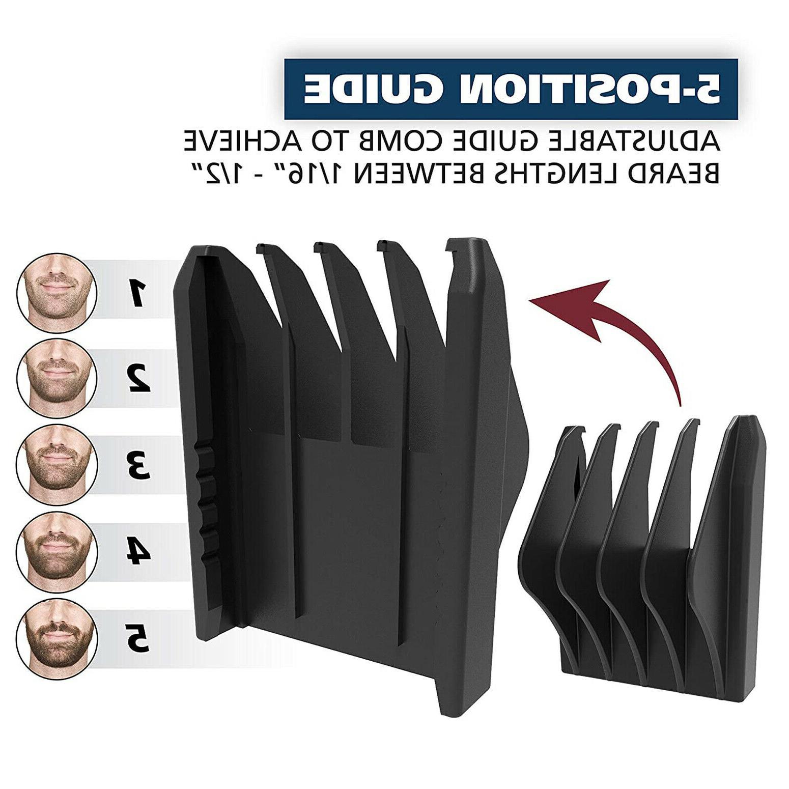 Mustache Kit Mens Compact Shaver Nose Ear Set
