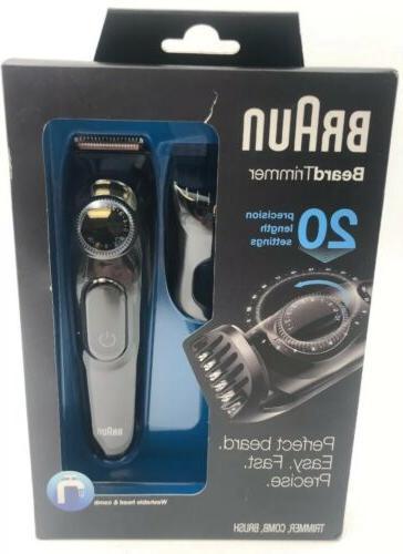 new bt3020 beard trimmer comb brush pack