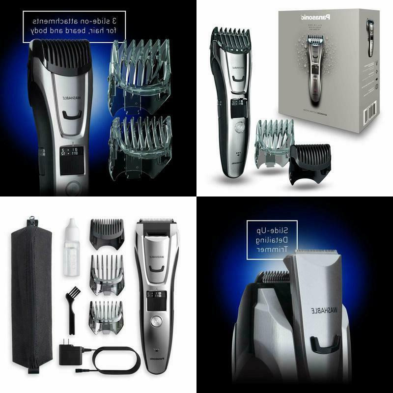 new electric rechargeable body hair beard trimmer