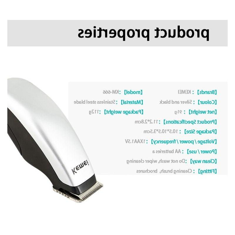 Kemei Newly Electric Hair Clipper <font><b>Trimmer</b></font> Machine Style