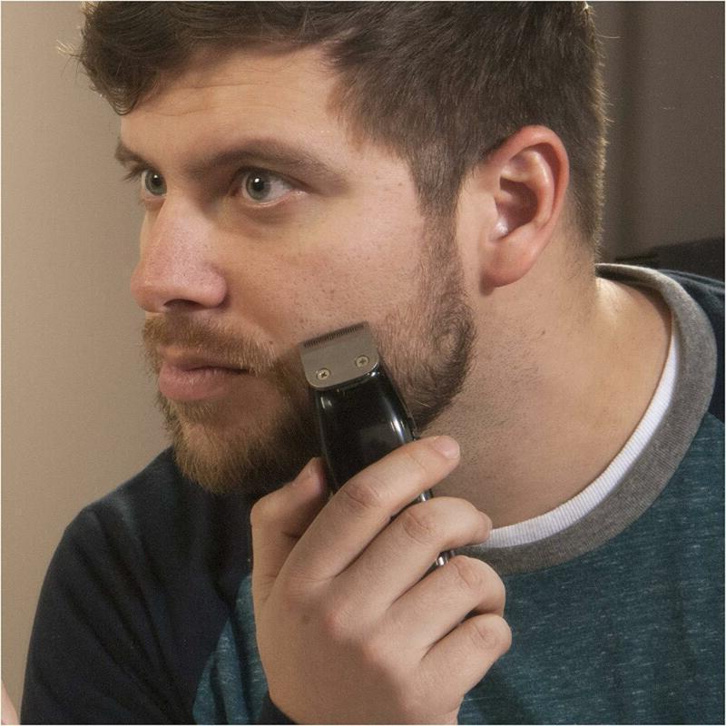 Personal Mustache Cordless Hair Ear Clipper Groomer Razor