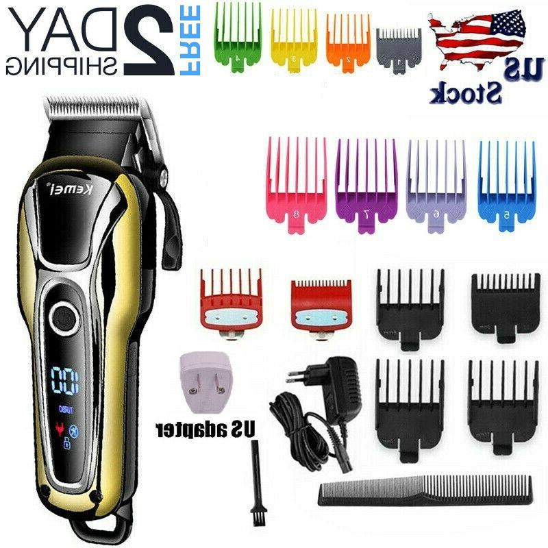 professional barber cordless electric hair clipper trimmer