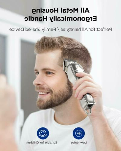 Limural Hair Clippers+T-Blade Trimmer Kit Cordless Beard