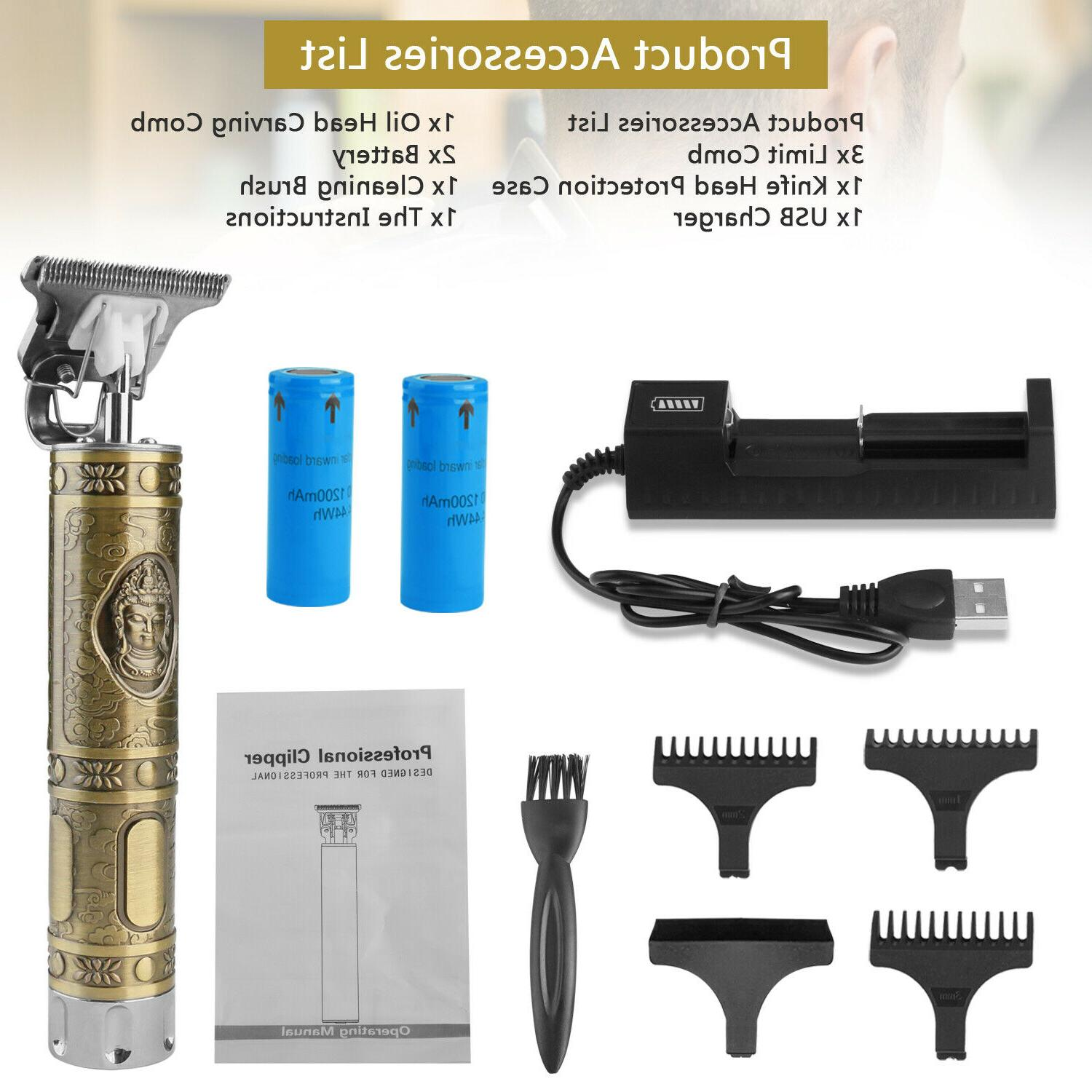 Professional Clippers Trimmer Shaving Cutting Beard