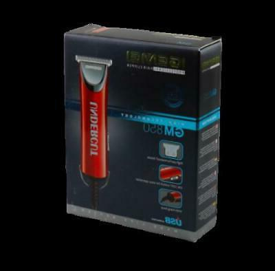 Professional USB T-Outliner Trimmer Red with Guards