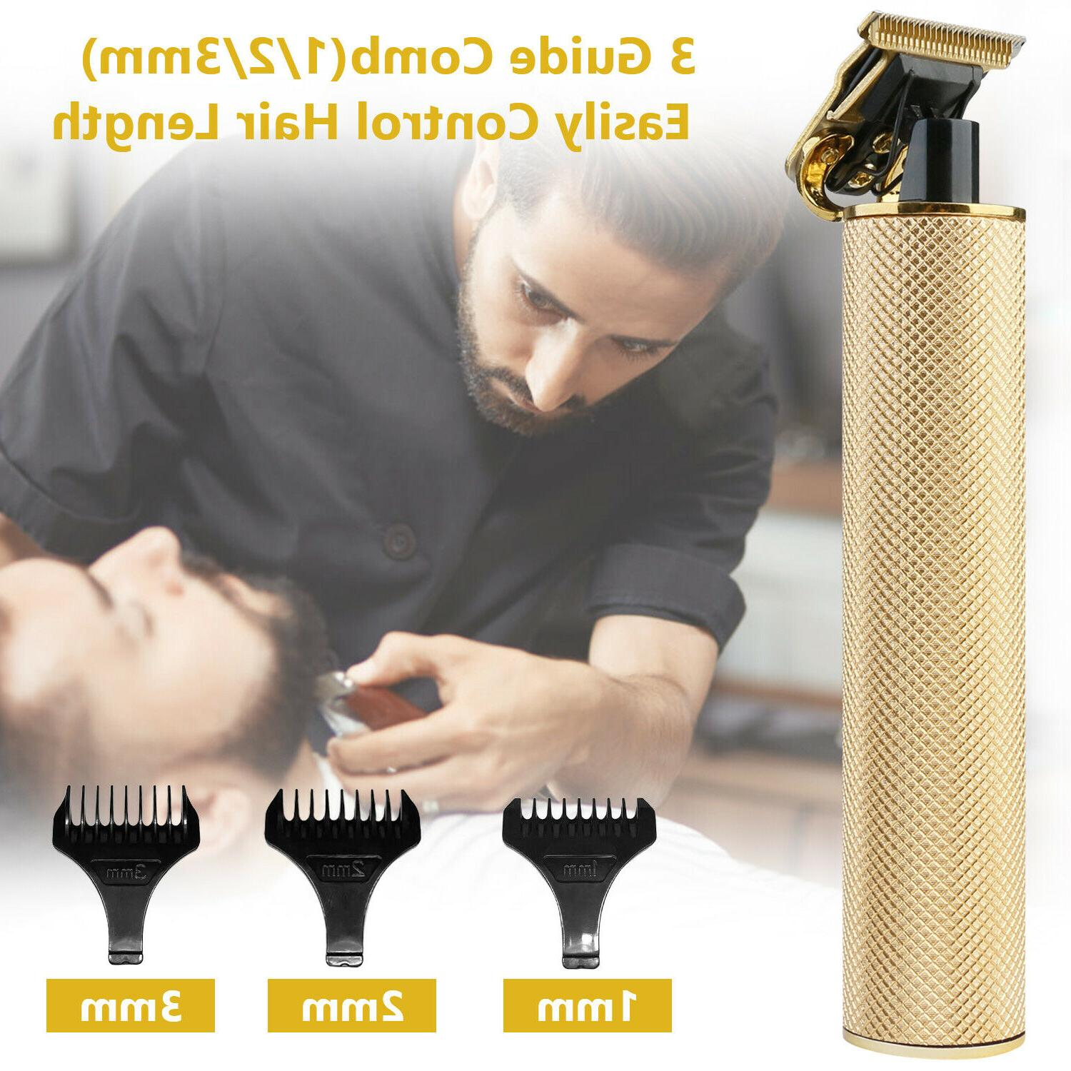 Real T-Blade Clipper Trimmer Beard Rechargeable