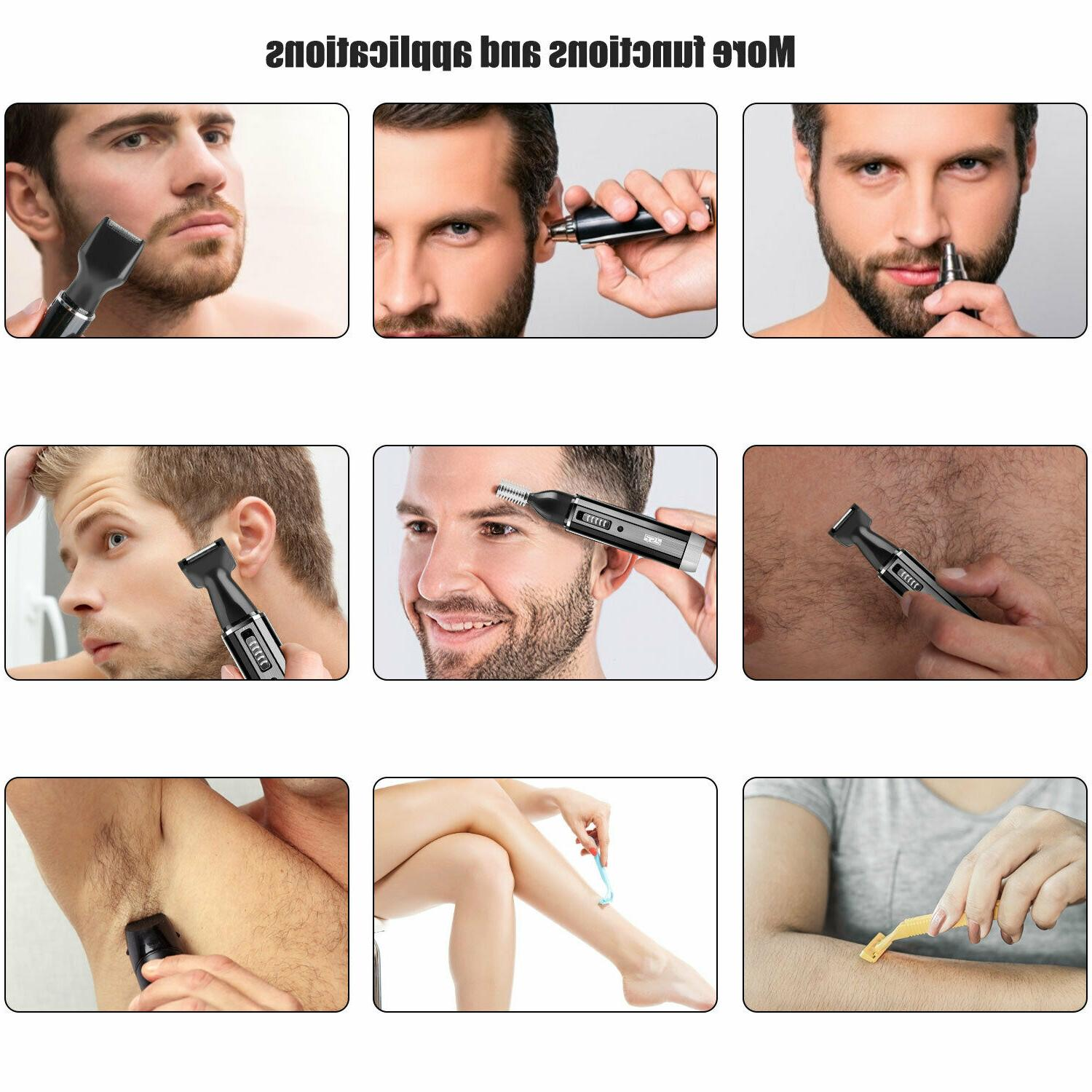 Rechargeable Electric Shaver Nose