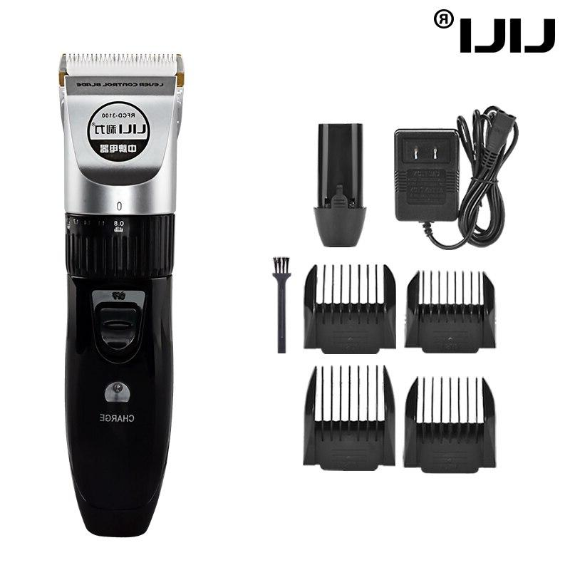 LILI Rechargeable Machine For Professional <font><b>Beard</b></font> Clipper Cordless Electric Hair