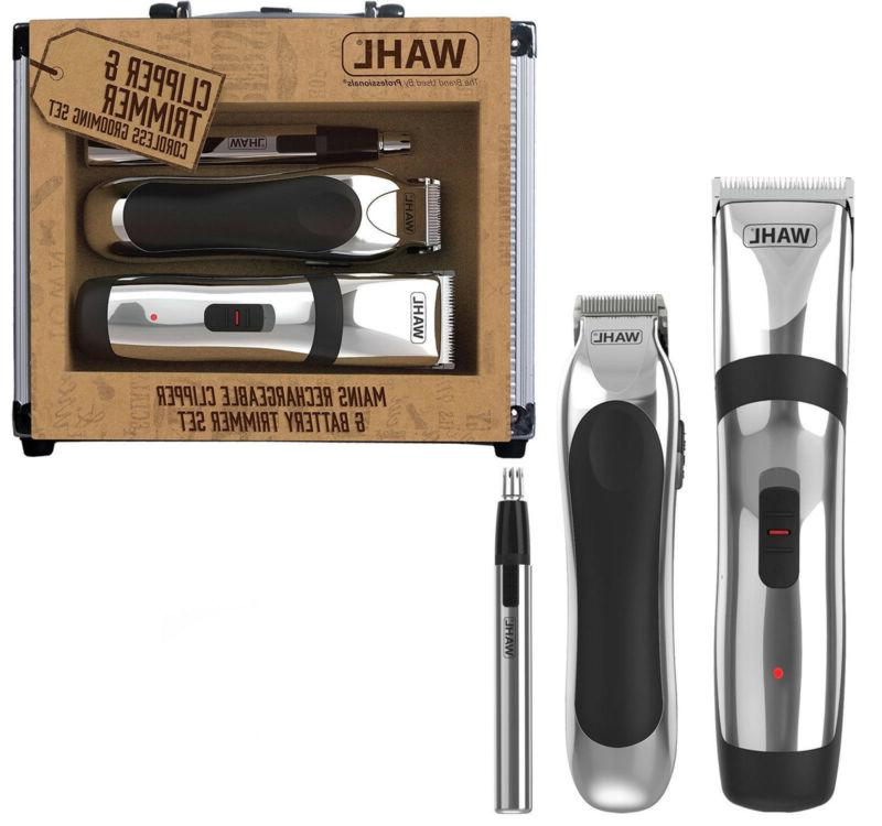 rechargeable hair clipper beard shave trimmer