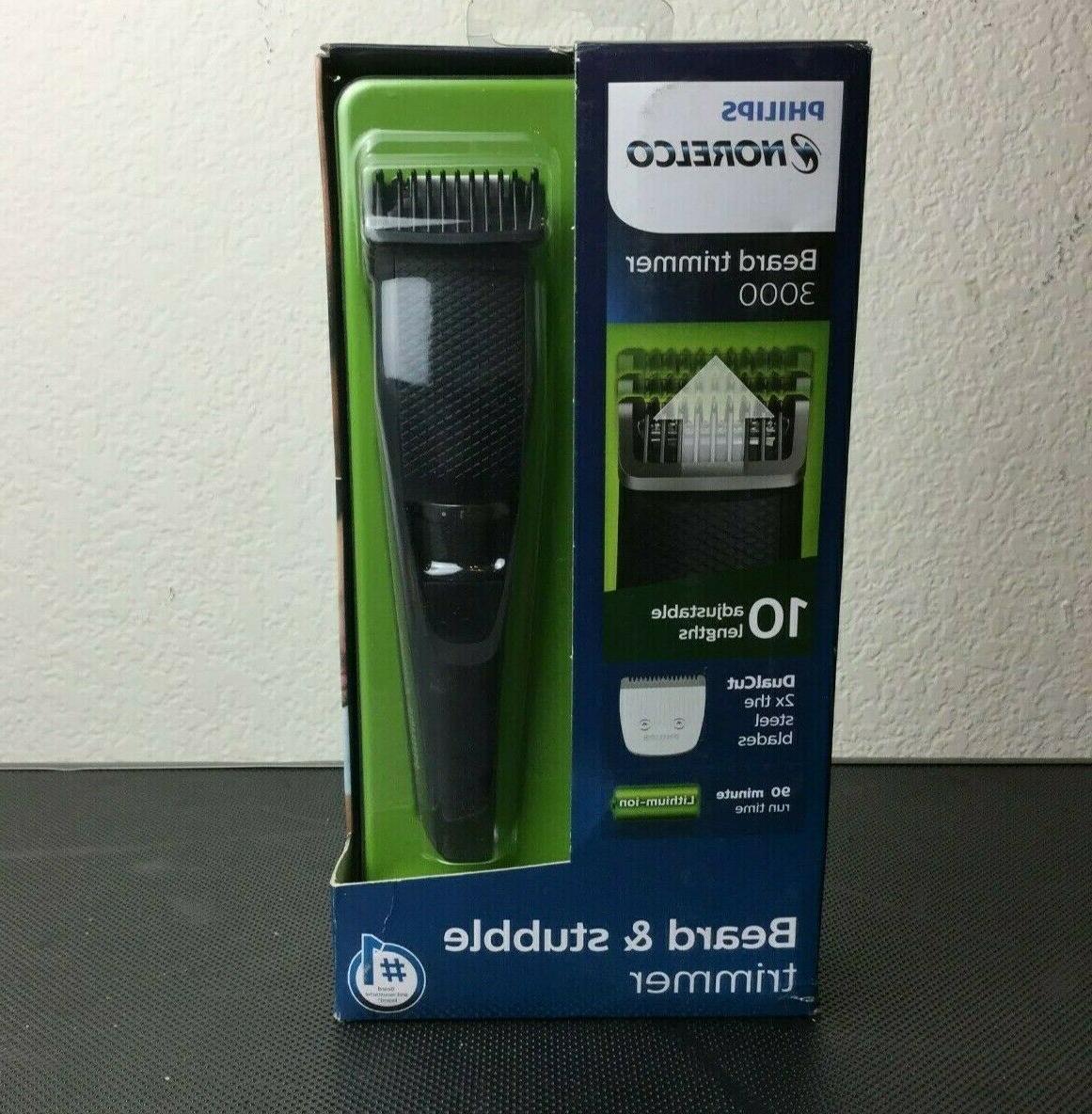 series 3000 cordless beard trimmer adjustable length