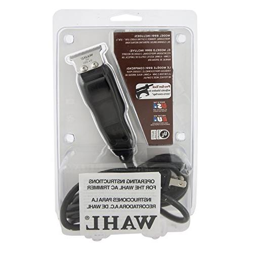 Wahl Corded #8991 Barbers Powerful – Includes 3 Guides, Oil, and