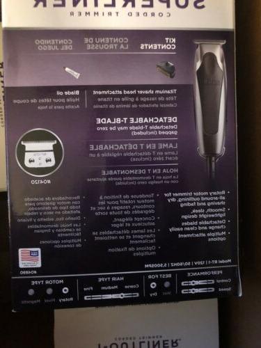 Andis SuperLiner 04890 Cut BONUS Foil