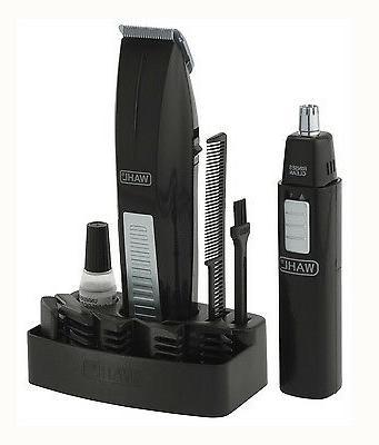 Wahl Clipper Groomer Battery Beard Ear Face Kit