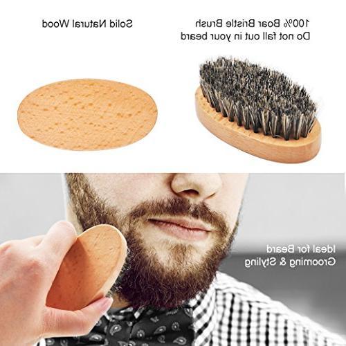 Ultimate Care Kit for Men Beard & Beard & Beard & Boar Brush Beard Mustache Gifts